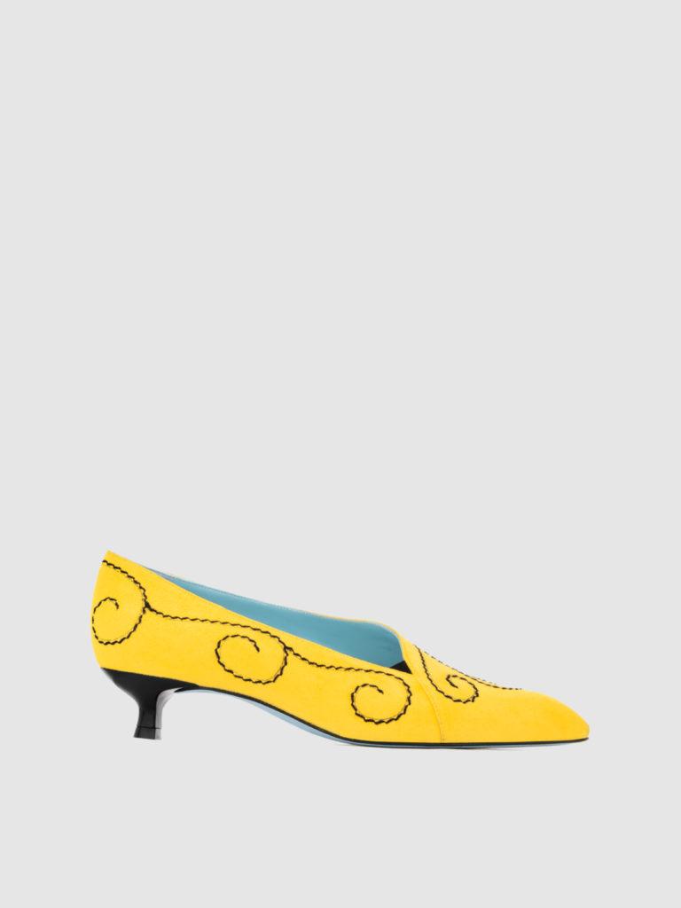 Prado - Heel height: 30 mm - Item code: C367R1N - Made in Italy