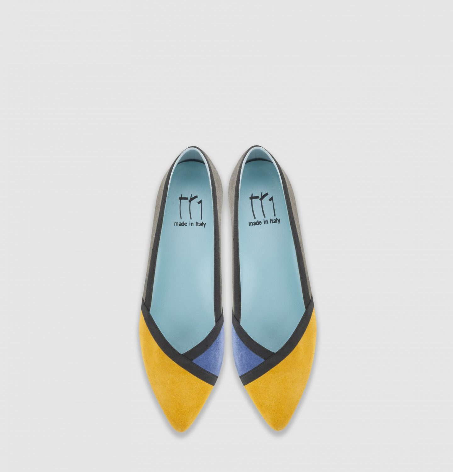 Mosaic - Heel height: 15 mm - Item code: A006M - Made in Italy