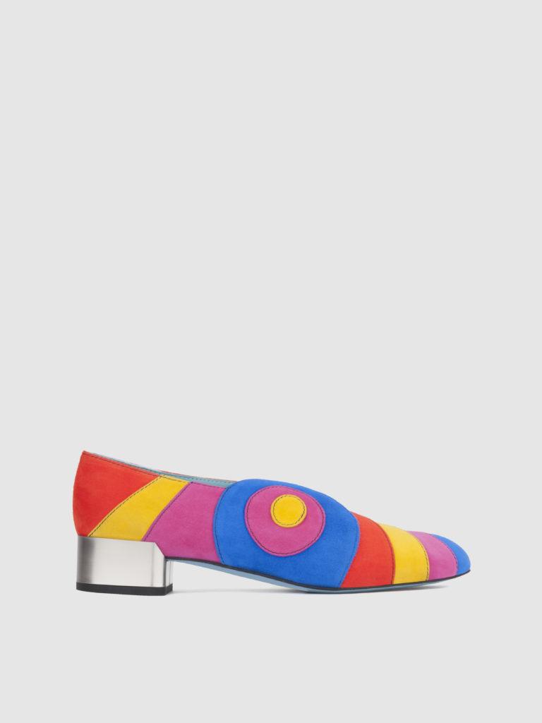Nanci - Heel height: 30 mm - Item code: C1015RDA - Made in Italy